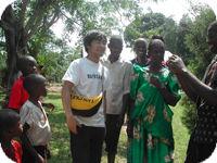 ウガンダチーム卒業生の門出