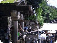 清水寺の長寿の水