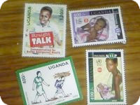 ウガンダの切手