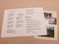 ウガンダのお葬式で配布された冊子
