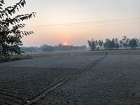 バングラデシュの夕日
