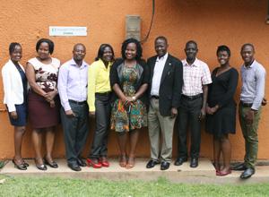 ウガンダ支部職員