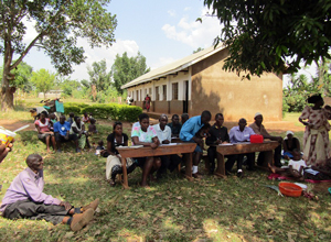 ウガンダの協同組合の活動の様子