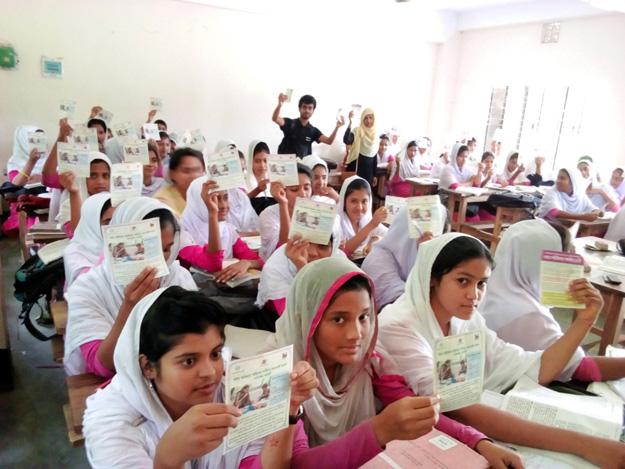 バングラデシュの署名活動