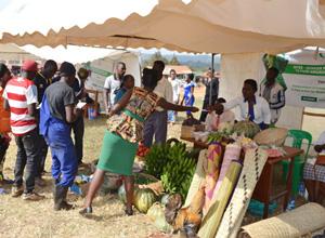 ウガンダの展示会