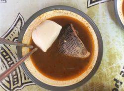 魚のスープ