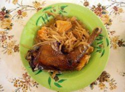 鶏モモ肉と野菜の煮込み